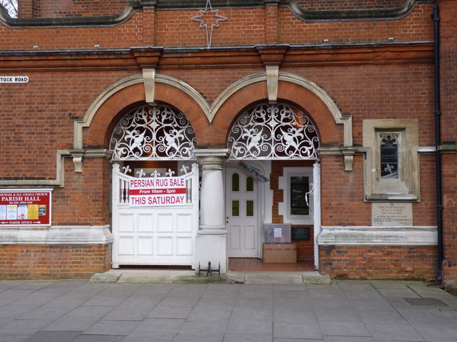 St Michael and All Angels Parish Hall, entrance