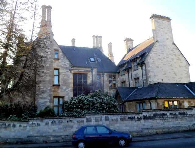 Grade II listed Ebley House, Stroud