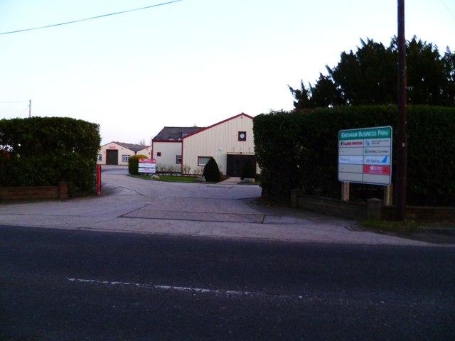 Entrance to Birdham Business Park