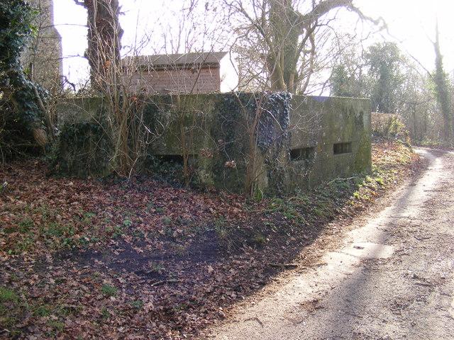 Pillbox in Church Lane