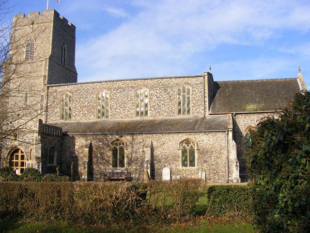 All Saints Church, Mendham