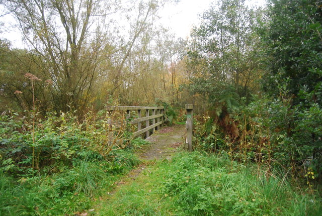Footbridge over the Blackwater River