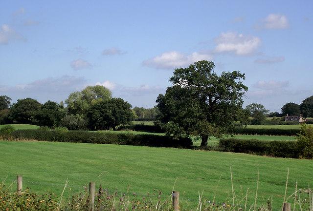 Farmland north of Market Drayton, Shropshire