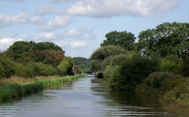 Shropshire Union Canal north of Market Drayton, Shropshire