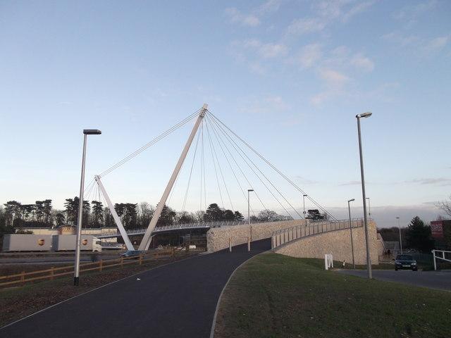 Drovers footbridge to Eureka Leisure Park