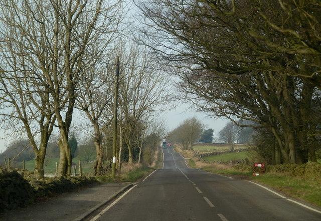 Looking along Oakerthorpe Road