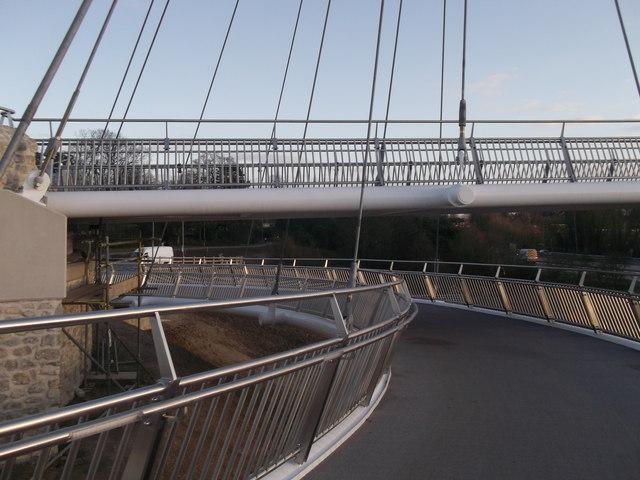 Drovers Footbridge near Eureka Leisure Park