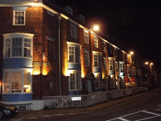 Esplanade at Night, Weymouth