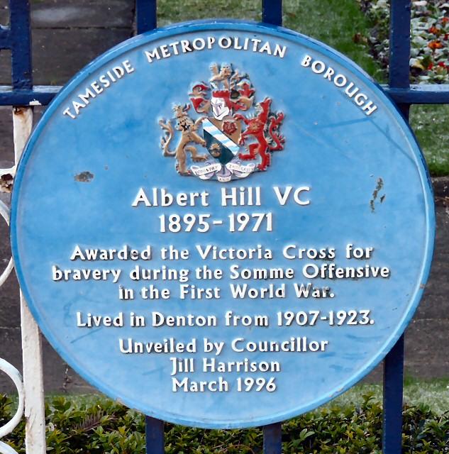 Albert Hill V.C.1895-1971
