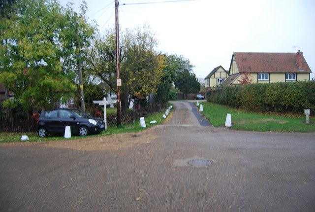 Junction of The Drive and The Drove