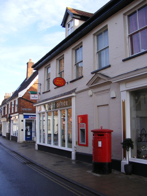 Harleston Post Office & Royal Mail The Thoroughfare Postbox