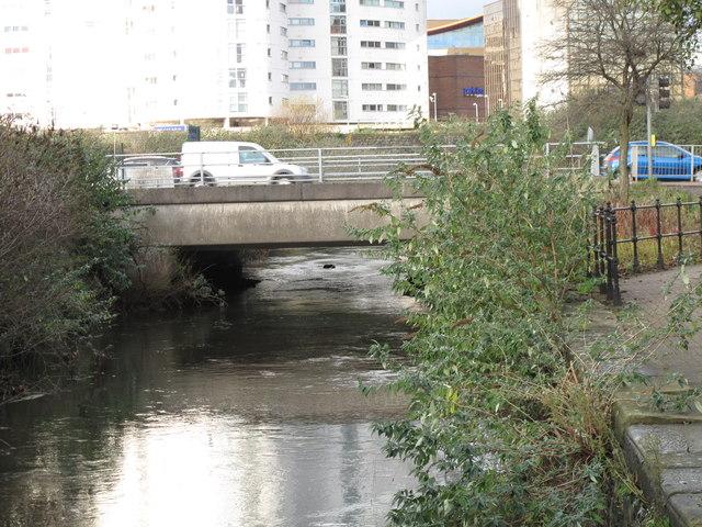 Bridge over the Black Weir Docks Feeder