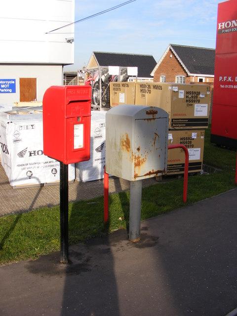 Parklands Mendham Lane Postbox