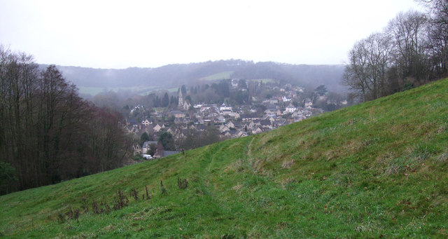 View over Woodchester