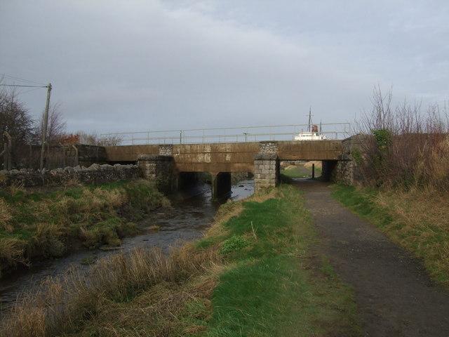 Chester to Holyhead railway bridge