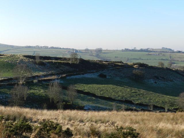 Bridleway near Rowarth