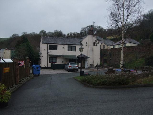 The Royal Oak pub Holywell