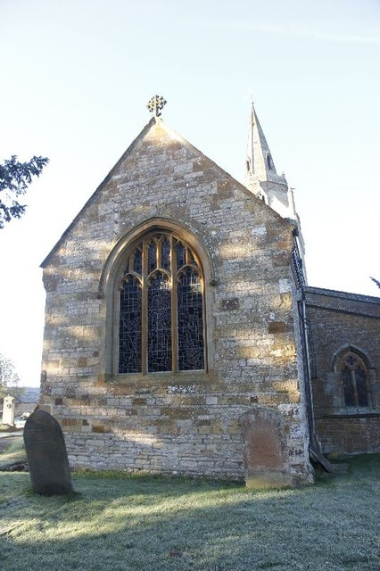 Chancel on St John the Baptist's Church