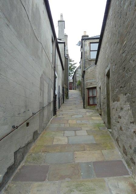 Back Charlotte Street, Lerwick