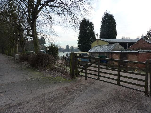Farm buildings, Mayfield Road