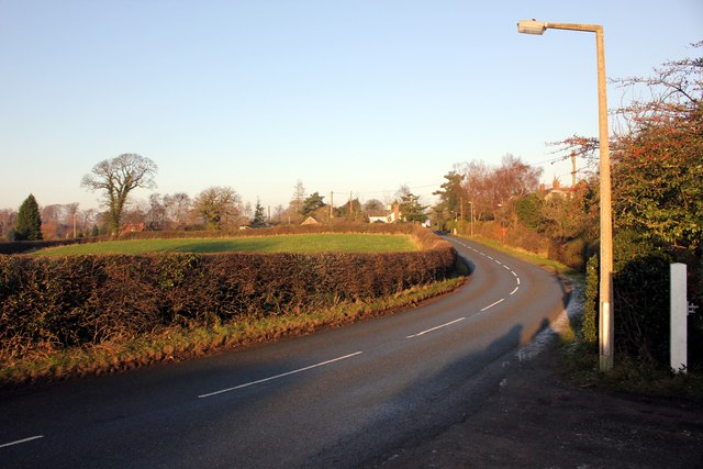 Post Office Lane, Norley