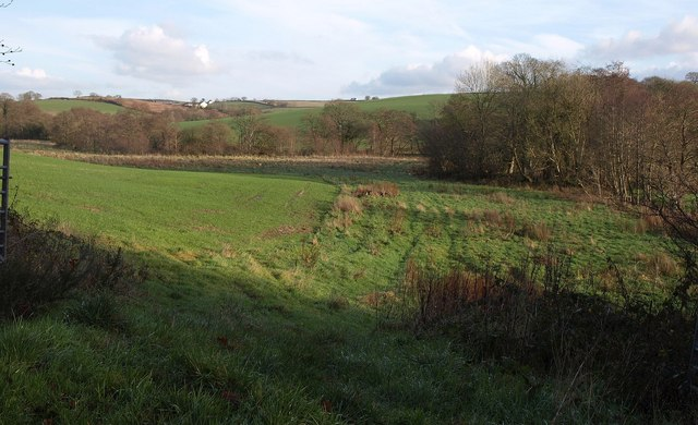 Taw valley at Bidbeare