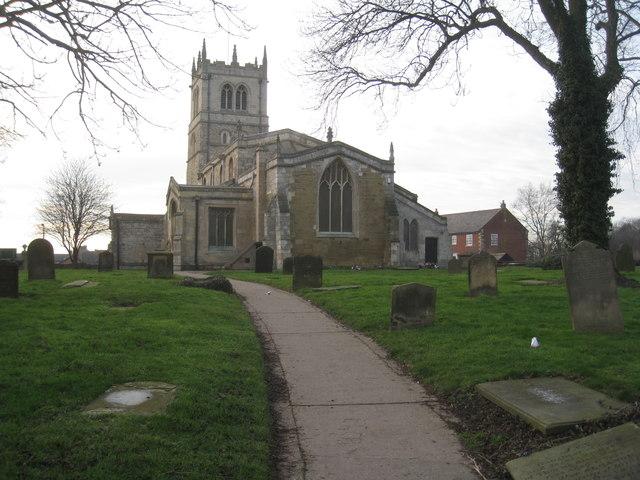 The church of St. Nicholas, Thorne