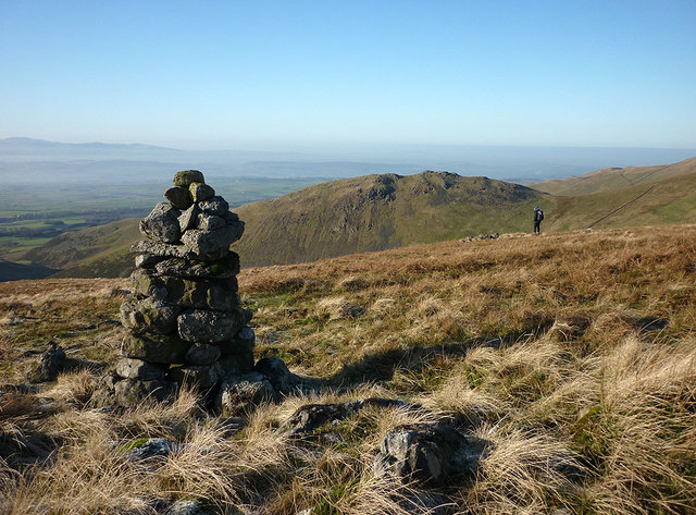 A cairn by the Maiden Way