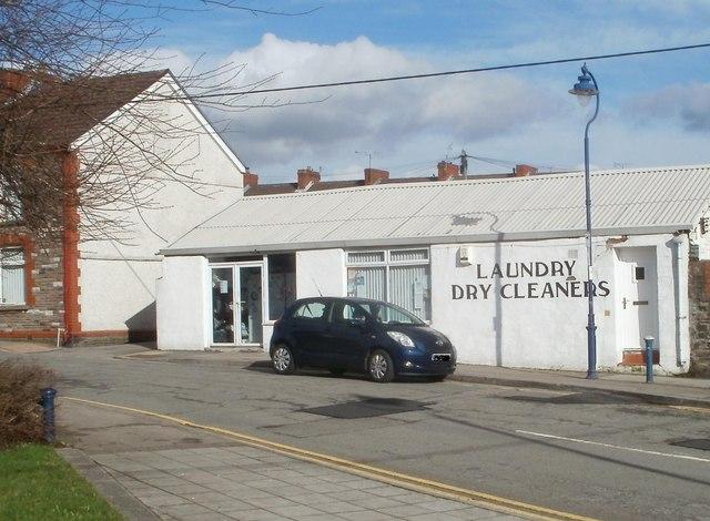 White City Laundry & Dry Cleaners, Trethomas