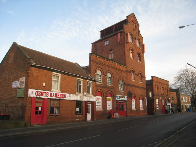 The former Darley's brewery