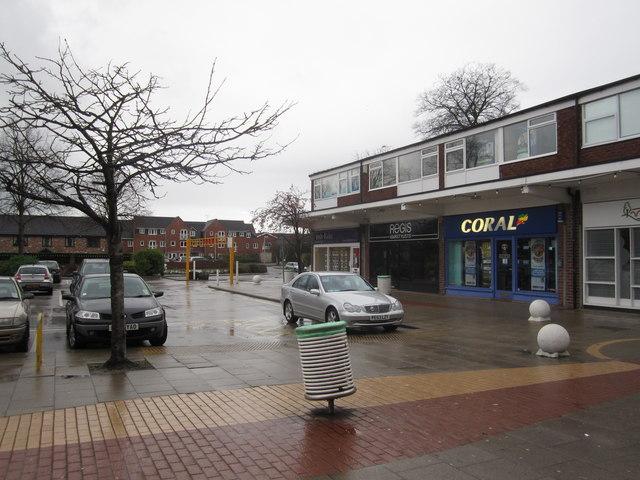Holmes Chapel shopping precinct