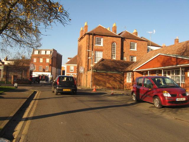 Gander Lane in Tewkesbury