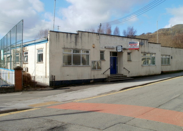 Former Royal British Legion premises to let, Trethomas