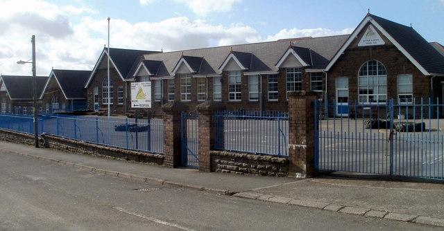 Tyn-y-wern Primary School, Trethomas