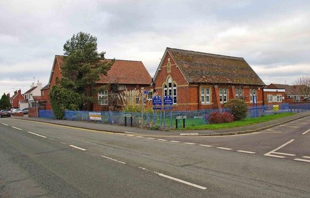 Broadheath Church of England Primary School (1), Sailor's Bank, Lower Broadheath