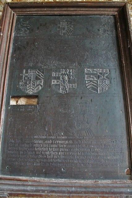 Disney Brass, St Peter's church, Norton Disney