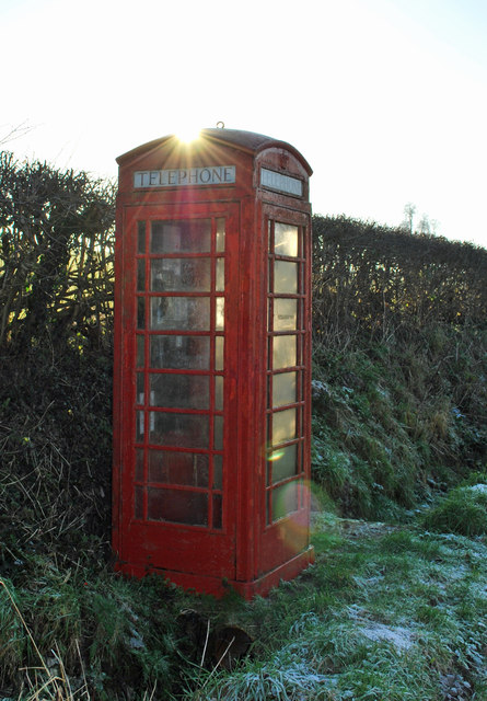 A good old fashioned (working!) phone box!
