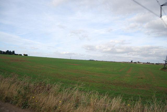 Farmland near Stoke