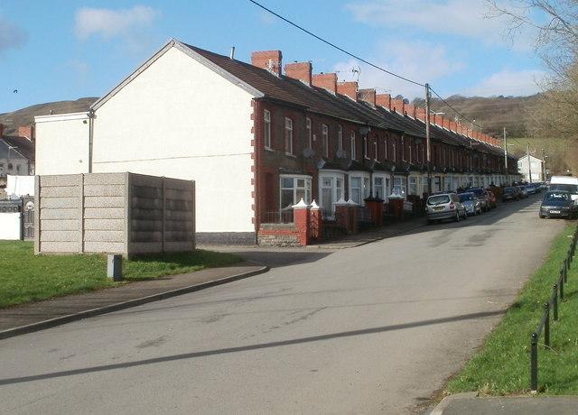 Upper Glyn Gwyn Street, Trethomas
