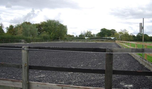 Equestrian paddock, Claydon Hall