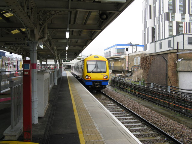 Barking station:  London Overground