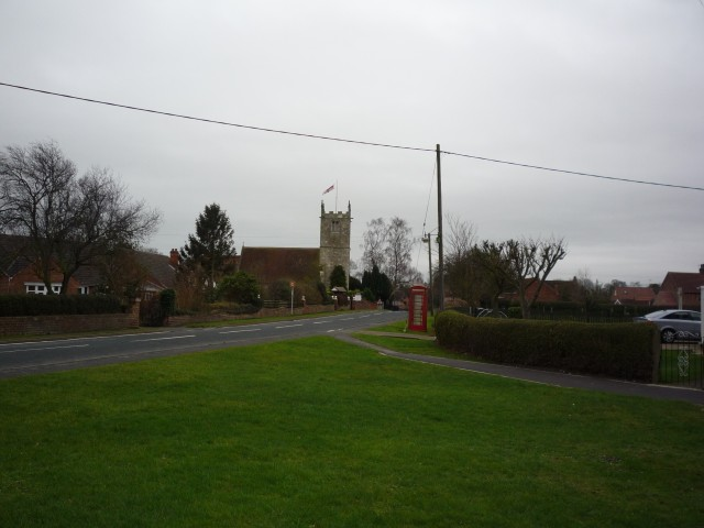 Looking towards St. Helen's Church