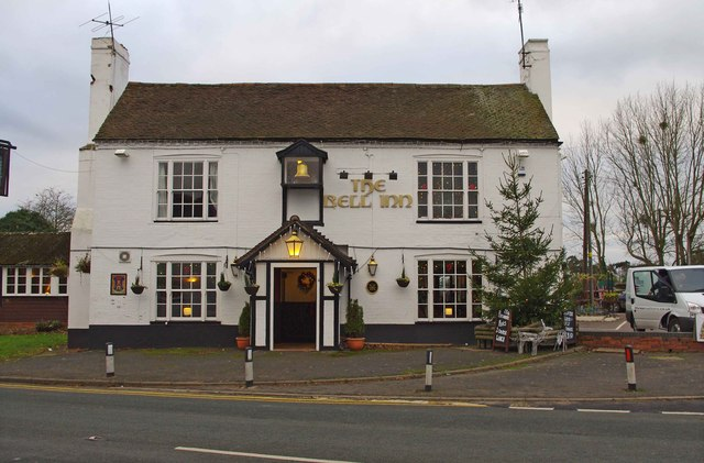 The Bell Inn (1), Martley Road, Lower Broadheath
