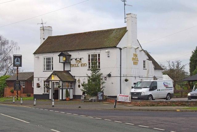 The Bell Inn (2), Martley Road, Lower Broadheath