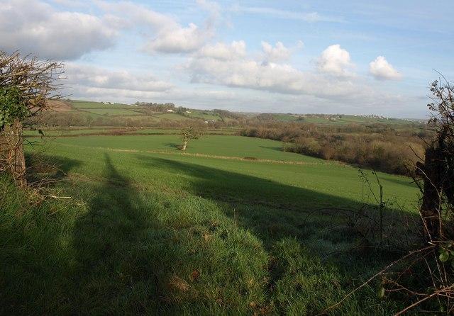 Taw valley near Taw Green