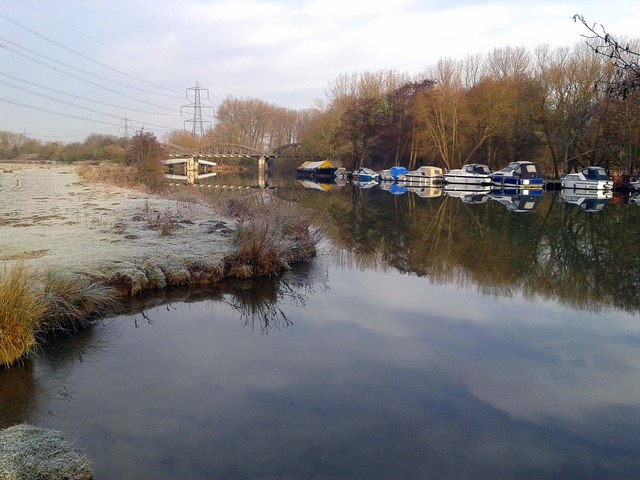 The River Thames on a frosty morning