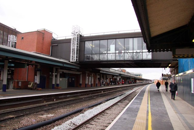 Footbridge at Reading Station