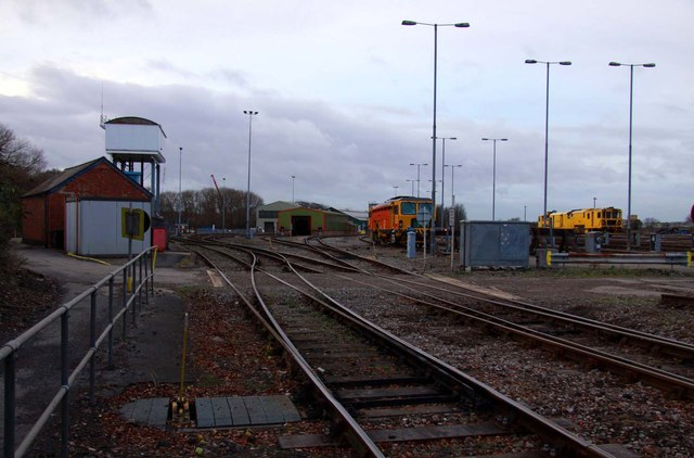 The lower Depot at Reading