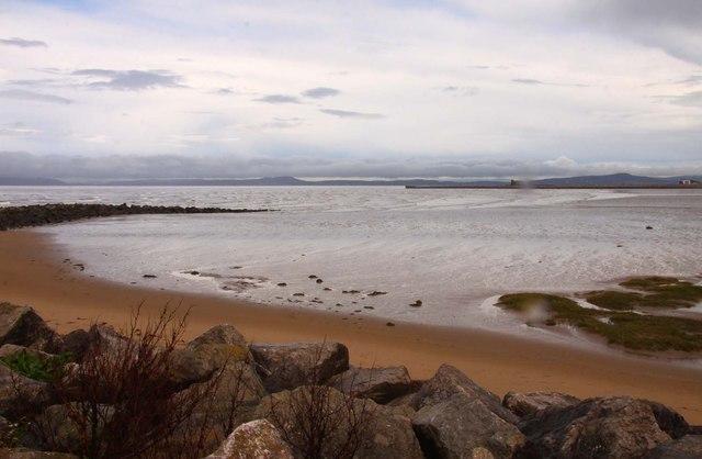 Sheltered beach at Sandylands