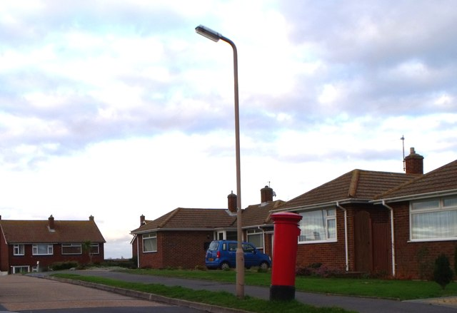 Pillarbox, Telscombe Drive, Langney